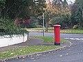 Pillar box on a street corner - geograph.org.uk - 1036224.jpg
