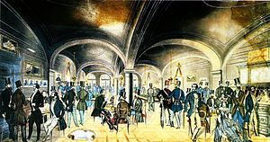 Hungarian Revolution of 1848 - The entrance room of the Pilvax coffee palace at Pest in the 1840s