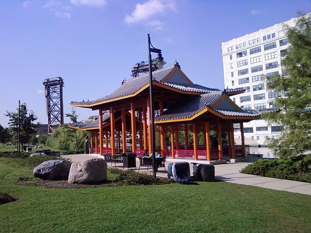 Ping Tom Memorial Park Riverfront Pavillion