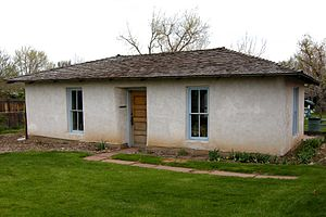 Pioneer Sod House - Image: Pioneer Sod House Wheat Ridge CO