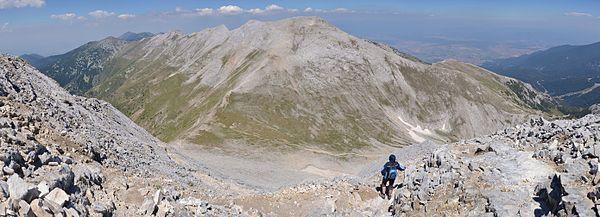 Pirin, Bulgaria - hiking trail from Vihren peak to Premkata pass