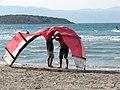 Pirlanta Beach Kitesurfing (CESME) - panoramio.jpg