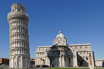 English: Leaning tower of Pisa