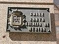 Placa calle Santa Eulalia de Mérida-tipo 1.jpg