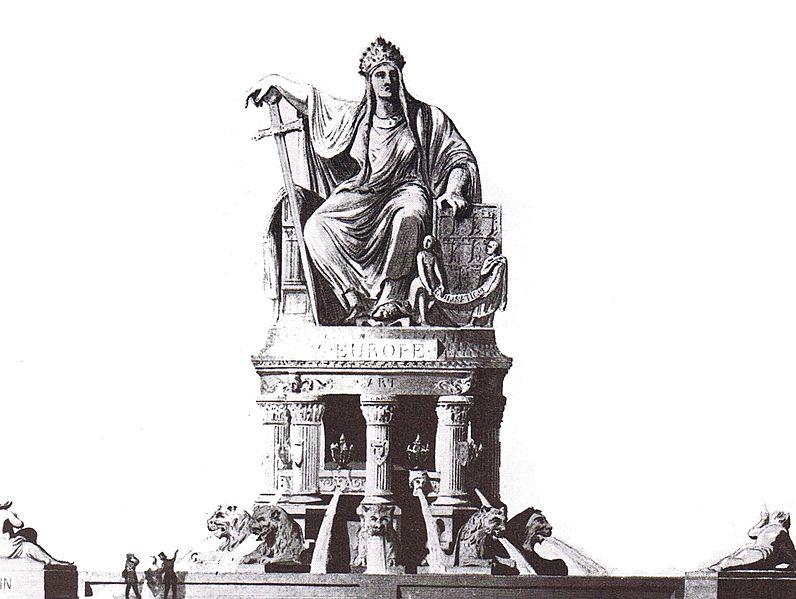 Fichier:Place de l'Europe Fontaine de l'Europe.jpg