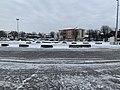 Place de la République (Miribel) sous la neige en février 2021.jpg