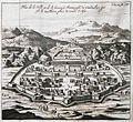 Plan de la ville et de fameuse Fortesse de Candahar, qui est la meilleure place de toute l'Asie - Tavernier Jean Baptiste - 1712.jpg
