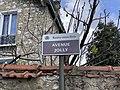 Plaque Avenue Jolly - Rosny-sous-Bois (FR93) - 2021-04-15 - 2.jpg