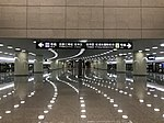 Platform of Hongqiao Airport Terminal 2 Station (Line 2 & 10).jpg