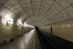 Platform of Sportivnaya Metro Station 09