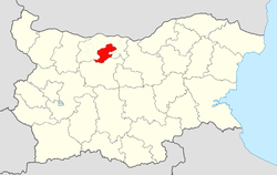 Pleven Municipality Within Bulgaria.png