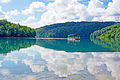 Plitvice Lakes tourist boat.jpg