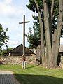 Podlaskie - Łapy - Uhowo - Kościelna 8 - Kościół św. Wojciecha 20110903 07.JPG