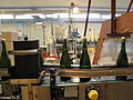 Pol Roger disgorgement line 6-bottles with cork and cap.jpg