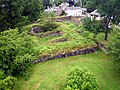 Pole aerial photo of The Royal Castle of Kindrochit in Mar.jpg