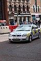 Police car, Belfast, May 2010.JPG