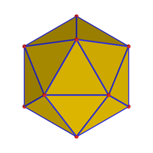 Polyhedron 20 from yellow