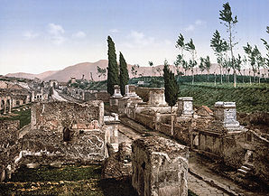 Pompeji um 1900 strasse.jpg