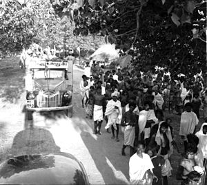Mahé, Puducherry - Freedom fighters in Mahe, 1954
