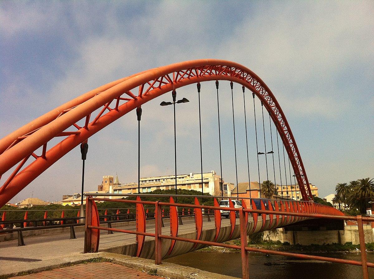 Ponte rosso albenga wikipedia for Disegni di ponte anteriore