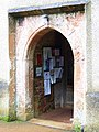 Porch, St George and St Mary Church, Cockington - geograph.org.uk - 943452.jpg