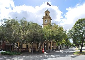 City of Port Melbourne - Location in Melbourne