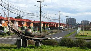 San Pedro de la Paz City and Commune in Biobío, Chile