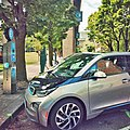 Portland Electric Avenue BMW i3 2015.jpg