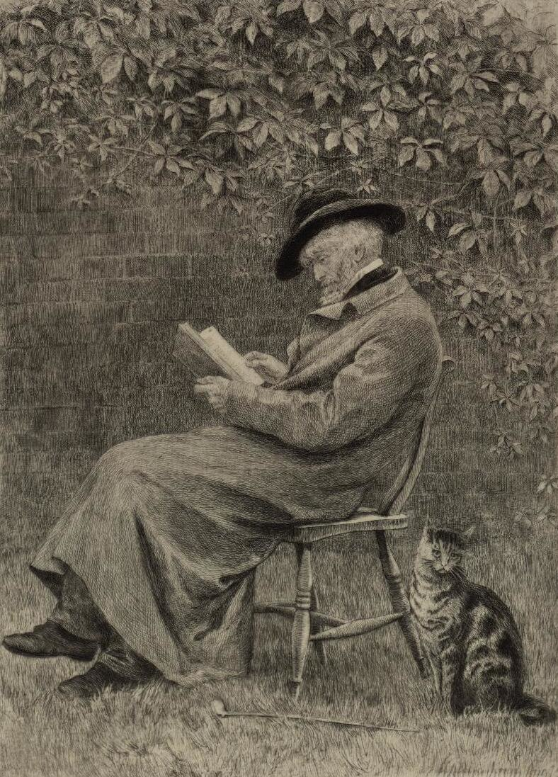 Portrait of Carlyle in his garden at Chelsea (4671347)