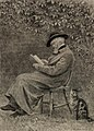 Portrait of Carlyle in his garden at Chelsea (4671347).jpg