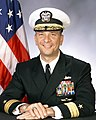 Portrait of US Navy Rear Admiral (lower half) Donald P. Loren.jpg