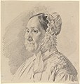 Portrait of a Woman in a Lace Bonnet, in three-quarter profile to the left MET DP830235.jpg