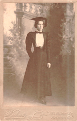 Portrait of graduating female by Kuhns of Whitehall Street in Atlanta Georgia.png