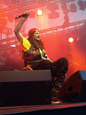 Possessed (band) -  Jeff Becerra at Finland's 2008 Jalometalli.