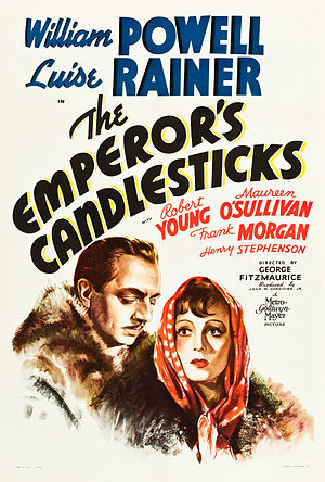 The Emperor's Candlesticks (film) - Theatrical Film Poster