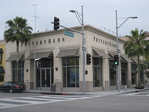 Pottery Barn - The Pottery Barn store in Beverly Hills, California