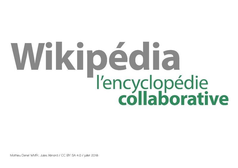 Présentation Wikipédia en une heure