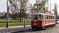 Prague historic tram 351 (14942536081).jpg