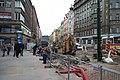 Praha, Náměstí Republiky, rekonstrukce II.JPG