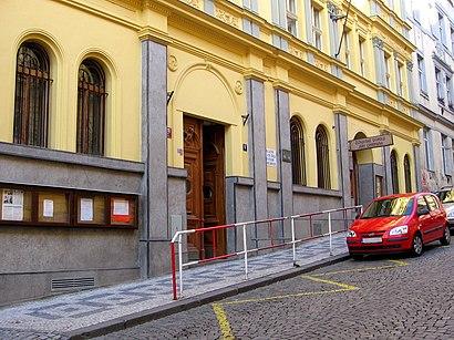Jak do Žižkovské Divadlo Járy Cimrmana hromadnou dopravou - O místě