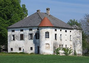 Louis Adamic - Praproče Manor, birthplace of Louis Adamic