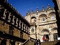 Praza das Praterías. Catedral. Fachada Románica. - panoramio.jpg