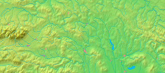 Abranovce - Image: Prešov Region background map