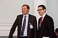 Premjers V.Dombrovskis tikās ar SVF un EK pārskata misijas pārstāvjiem (6308161373).jpg