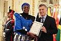 Presentación de cartas credenciales - Embajadora de Burkina Faso.jpg