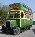 Preserved Southdown bus 125 (CD 5125) 1920 Leyland N Type Short Brothers (1928 rebody), Amberley Museum, 25 April 2011 (2).jpg