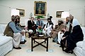 President Ronald Reagan meeting with Afghan Freedom Fighters in the Oval Office.jpg