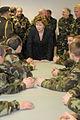 President meets more of troops down in the Glen. (4190814378).jpg