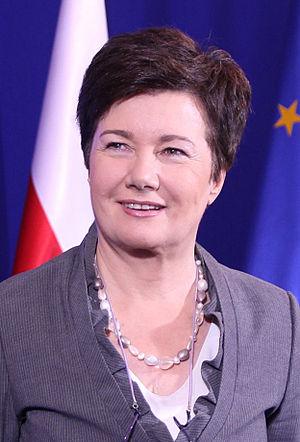 Hanna Gronkiewicz-Waltz - Image: Prezydent Hanna Gronkiewicz Waltz (cropped)