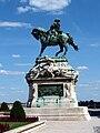 Prince Eugene monument by József Róna and Rezső Nay (1899). - 20130613 Budapest 45.jpg
